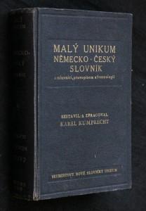 náhled knihy - Malý unikum německo -český slovník