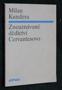 náhled knihy - Zneuznávané dědictví Cervantesovo