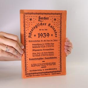 náhled knihy - Astrologischer kalender für das Jahr 1939