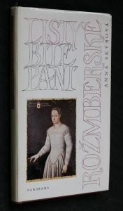 náhled knihy - Listy bílé paní rožmberské
