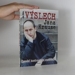 náhled knihy - Výslech Jana Krause