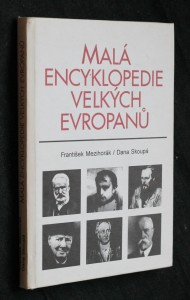 náhled knihy - Malá encyklopedie velkých Evropanů