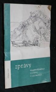 náhled knihy - Zprávy vlastivědného ústavu v Olomouci, číslo 150