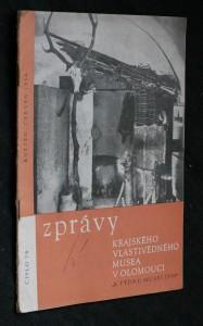 náhled knihy - Zprávy krajského vlastivědného musea v Olomouci, číslo 78