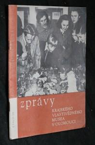 náhled knihy - Zprávy krajského vlastivědného musea v Olomouci, číslo 76