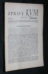 náhled knihy - Zprávy KVM Olomouc, číslo 72