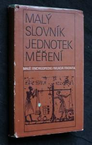 náhled knihy - Malý slovník jednotek měření