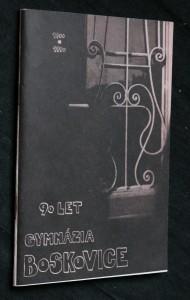 náhled knihy - 90 let gymnázia Boskovice 1900-1990