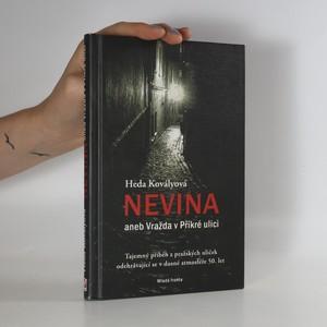 náhled knihy - Nevina aneb vražda v Příkré ulici