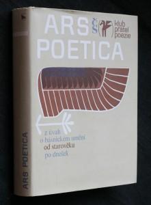Ars poetica : z úvah o básnickém umění od starověku po dnešek