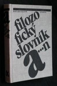 náhled knihy - Filozofický slovník A-N