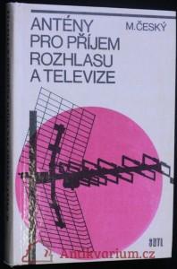 náhled knihy - Antény pro příjem rozhlasu a televize : určeno též žákům odb. škol