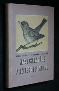 náhled knihy - Naše chráněné a užitečné ptactvo