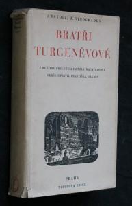 náhled knihy - Bratři Turgeněvové