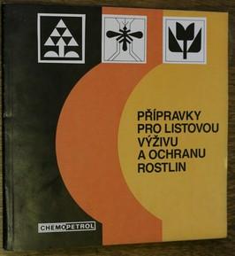 náhled knihy - Přípravky pro listovou výživu a ochranu rostlin