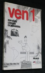 náhled knihy - Ven 1, espaňol lengua extranjera, pracovní sešit