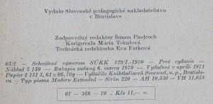 antikvární kniha Elementárny úvod do modernej matematiky, 1971