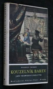 Kouzelník barev : Jan Vermeer z Delftu : životopisné romaneto