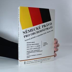 náhled knihy - Německé právo pro obchodní praxi