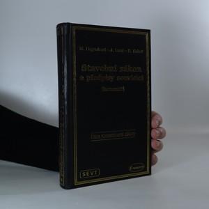 náhled knihy - Stavební zákon a předpisy souvisící. Komentář