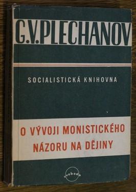 náhled knihy - O vývoji monistického názoru na dějiny