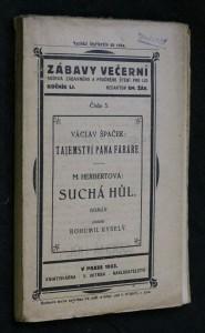 náhled knihy - Zábavy večerní, ročník LI., číslo 3.: Tajemství pana faráře. Suchá hůl.