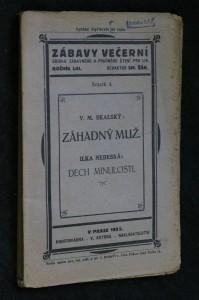 náhled knihy - Zábavy večerní, ročník LIII., svazek 4.:Záhadný muž. Dech minulosti.