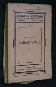 náhled knihy - Zábavy večerní, ročník LIII., svazek 3.: Záhadný muž.