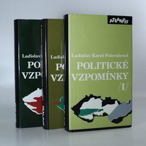 náhled knihy - Politické vzpomínky. 1.-3. díl (3 svazky, komplet)