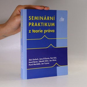 náhled knihy - Seminární praktikum z teorie práva