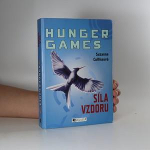 náhled knihy - Síla vzdoru. Hunger games