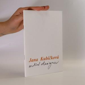 náhled knihy - Jana Kubíčková. Artist Design