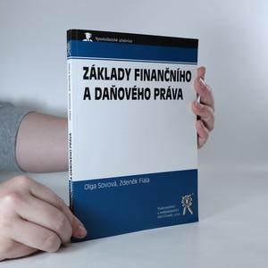 náhled knihy - Základy finančního a daňového práva