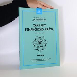 náhled knihy - Základy finančního práva