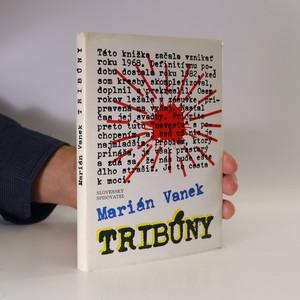 náhled knihy - Tribúny (slovensky, věnování autora)