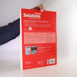 antikvární kniha Solutions. Pre-intermediate teacher's book, 2016