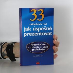 náhled knihy - 33 rad jak úspěšně prezentovat