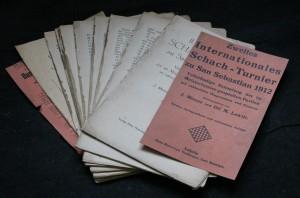 náhled knihy - Zweites Internationales Schach-Turnier zu San Sebastian 1912
