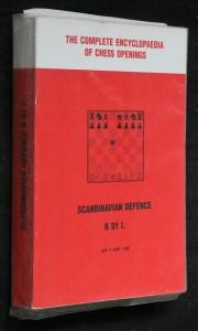 náhled knihy - Scandinavian defence B 01 I.