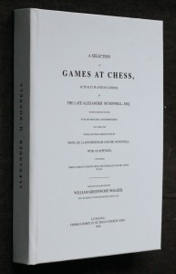 náhled knihy - A selection games at chess 1836 (REPRINT)