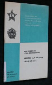náhled knihy - Kapitán Ján Nálepka - hrdina ZSSR