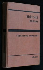 náhled knihy - Elektrické pohony : učebnice pro elektrotechn. fak.