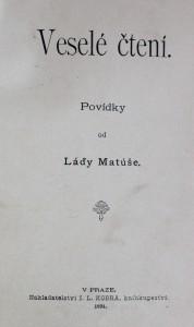 antikvární kniha Veselé čtení, 1894