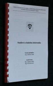 náhled knihy - Studiová a hudební elektronika