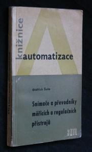 náhled knihy - Snímače a převodníky měřicích a regulačních přístrojů