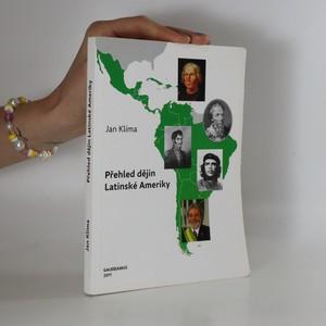 náhled knihy - Přehled dějin Latinské Ameriky