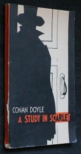 náhled knihy - A study in scarlet. (Nachová studie podle povídky C. Doyla)