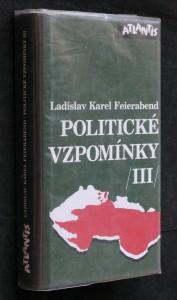 náhled knihy - Politické vzpomínky III
