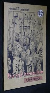 náhled knihy - Stín nad Innsmouthem a jiné horrory