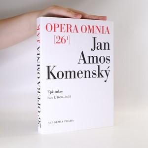 náhled knihy - Dílo Jana Amose Komenského. Opera omnia 26/I